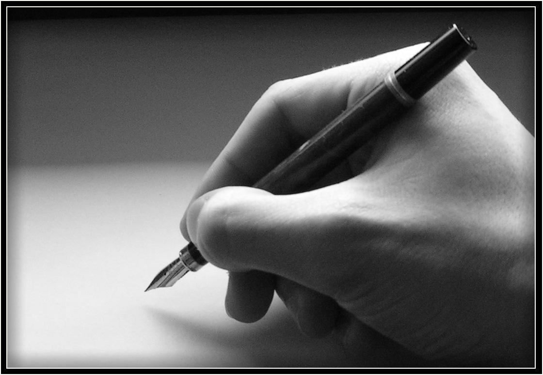 Beginning of his writing journey - writer's craft!
