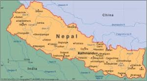 Development  studies map of Nepal