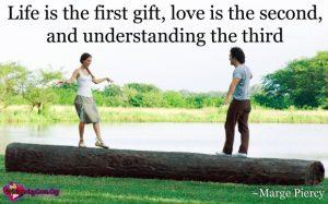 Life of understanding comes third?