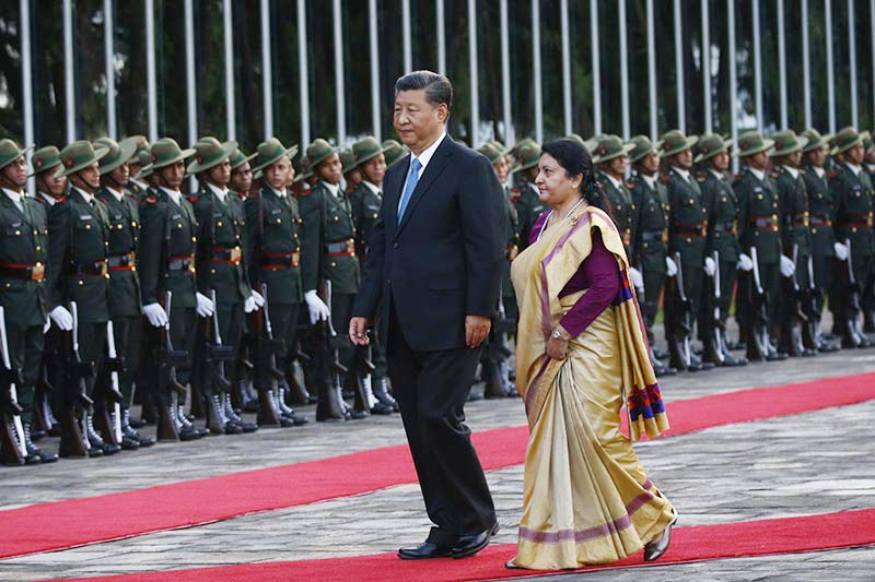 Chinese President Visit to Nepal